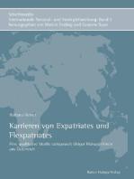 Karrieren von Expatriates und Flexpatriates