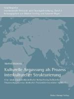Kulturelle Anpassung als Prozess interkultureller Strukturierung
