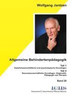 Allgemeine Behindertenpädagogik