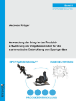 Anwendung der Integrierten Produktentwicklung als Vorgehensmodell für die systematische Entwicklung von Sportgeräten