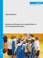 Bindung und Dropout von Jugendlichen im vereinsorganisierten Sport