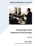 Vorlesungen über Allgemeine Psychologie