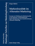 Markenloyalität im Aftersales-Marketing