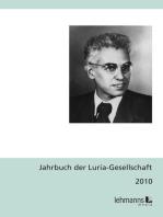 Jahrbuch der Luria-Gesellschaft 2010