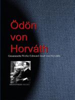 Gesammelte Werke Edmund Josef von Horváths (Ödön von Horváth)