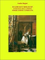 Is God Een Moloch? Antologia della poesia nederlandese e afrikaans