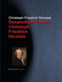 Gesammelte Werke Christoph Friedrich Nicolais