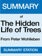 The Hidden Life of Trees | Summary