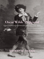Oscar Wilde Prefigured