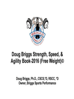 Doug Briggs Strength, Speed, & Agility Book 2016