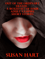 Out of the Ordinary Deaths – a Boxed Set of Four Adult Vampire Short Stories