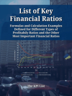 List of Key Financial Ratios: Formulas and Calculation Examples Defined for Different Types of Profitability Ratios and the Other Most Important Financial Ratios