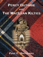 Percy Guthrie and the MacLean Kilties