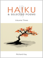 Haiku & Selected Poems Volume III