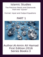 """The Precious Pearls and Diamonds from the """"Quran"""""""