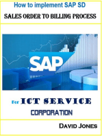 How To Implement SAP SD- Sales Order To Billing Process For ICT Service Corporation