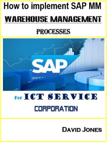 How to Implement SAP MM- Warehosue Management Processes for ICT service Corporation