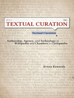 Textual Curation