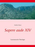 Sapere aude XIV