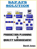 Modules Production Planning and Quality Management In SAP AFS Solution