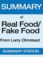 Real Food Fake Food | Summary
