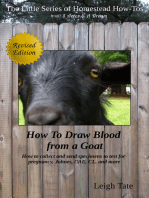 How To Draw Blood from a Goat