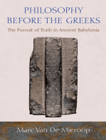 Philosophy before the Greeks