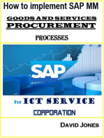 How To Implement SAP Material Management -Goods And Services Procurement Processes For ICT service Corporation