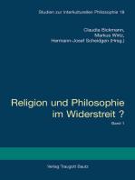 Religion und Philosophie im Widerstreit? - Gebundene Ausgabe