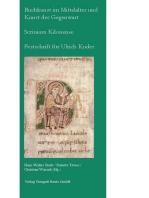 Buchkunst im Mittelalter und Kunst der Gegenwart - Scrinium Kilonense