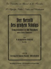 Ein Dramatiker im Gewand des hl Franziskus: P. Hippolytus Böhlen ofm. Ordens- und Volksschauspiele