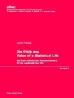 Die Ethik des Value of a Statistical Life
