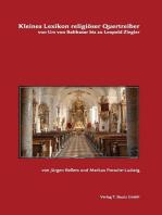 Kleines Lexikon religiöser Quertreiber