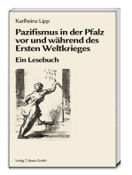 Pazifismus in der Pfalz vor und während des Ersten Weltkrieges