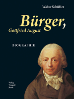 Bürger, Gottfried August BIOGRAPHIE