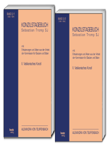 KONZILSTAGEBUCH: mit Erläuterungen und Akten aus der Arbeit der Kommission für Glauben und Sitten II. VATIKANISCHES KONZIL