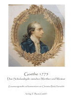 Goethe 1775
