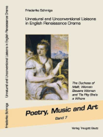 Unnatural and Unconventional Liaisons in English Renaissance Drama
