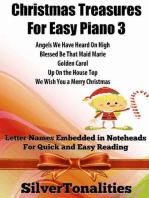 Christmas Treasures for Easy Piano 3