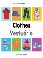 My First Bilingual Book–Clothes (English–Portuguese)