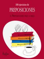 100 ejercicios de preposiciones
