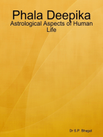 Phala Deepika : Astrological Aspects of Human Life