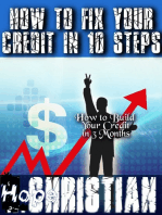 How to Fix Your Credit In 10 Steps