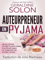 Auteurpreneur en pyjama