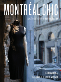 Montréal Chic: A Locational History of Montreal Fashion: A Locational History of Montreal Fashion