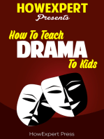 How To Teach Drama To Kids