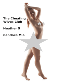The Cheating Wives Club: Heather 5