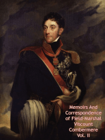 Memoirs And Correspondence of Field-Marshal Viscount Combermere Vol. II