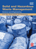 Solid and Hazardous Waste Management