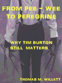 From Pee-wee to Peregrine: Why Tim Burton Still Matters